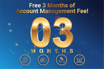 Enjoy free 03 months of account management fee when opening a Personal and Corporate account with DSBC Financial Europe!