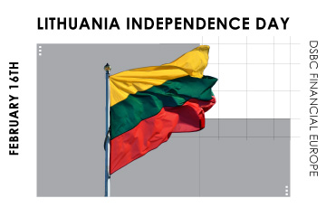 Announcement on Lithuania Independence Day