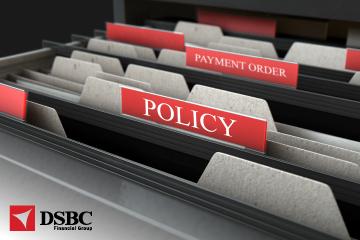 Notificação de aplicação da Política de Ordem de Pagamento