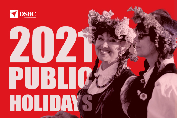 Public Holidays in 2021