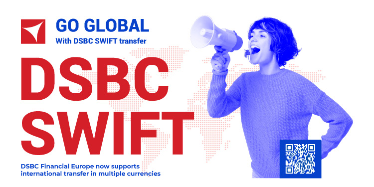 (DSBC now supports international transfer in multiple currencies)