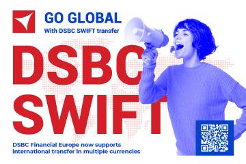 Passez à l'international avec DSBC SWIFT Transfer